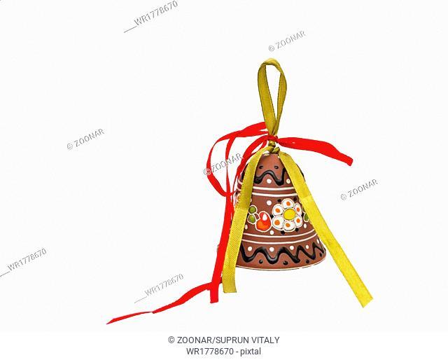 Hand crafted ceramic decoration