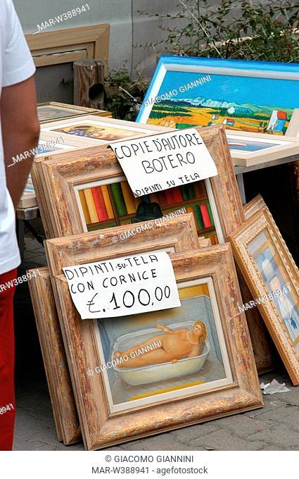 market, forte dei marmi, versilia, tuscany, italy