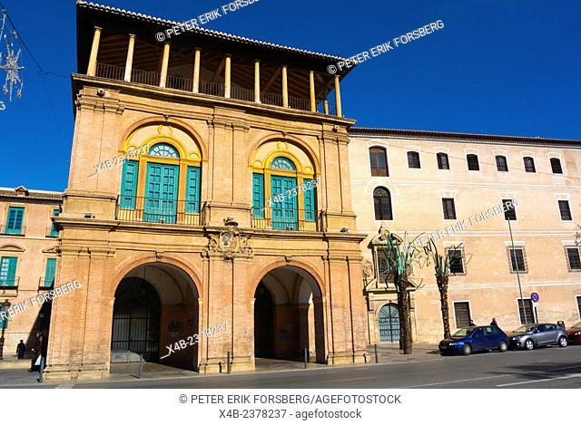 Antiguo Colegio de Teólogos de San Isidoro, Glorieta de Espana square, central Murcia, Spain