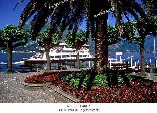 Lakeside gardens at Bellagio on Lake Como