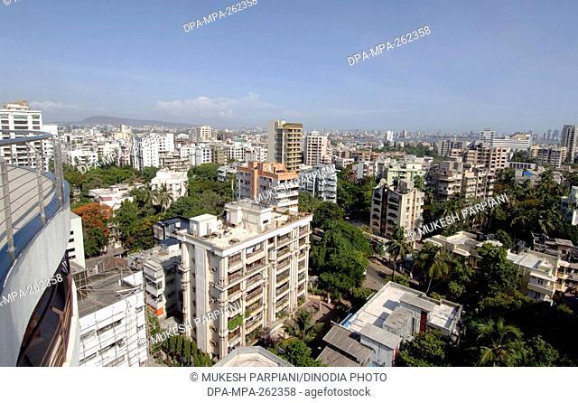 Skyline from Oberoi Heights building, Mumbai, Maharashtra, India, Asia