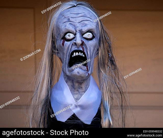 Halloween frightful rag-doll