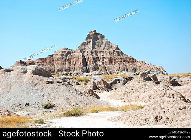 Badlands National Park, South Dakota, USA. Badlands Nationalpark, South Dakota, USA