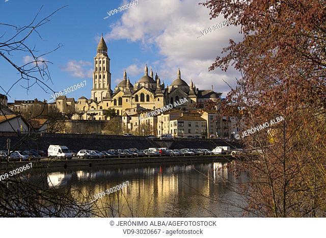 Saint Front Cathedral, Pilgrimage way to Santiago de Compostela, UNESCO World Heritage site, Isle River, Périgueux. Dordogne, Aquitaine