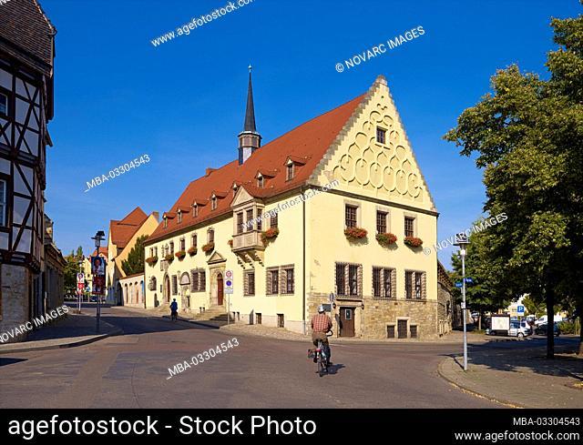 Town hall in Merseburg, Saxony-Anhalt, Germany