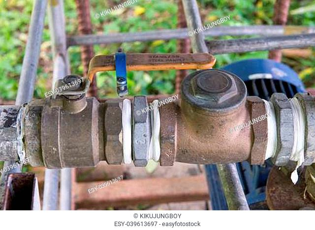 water supplier and valve 2