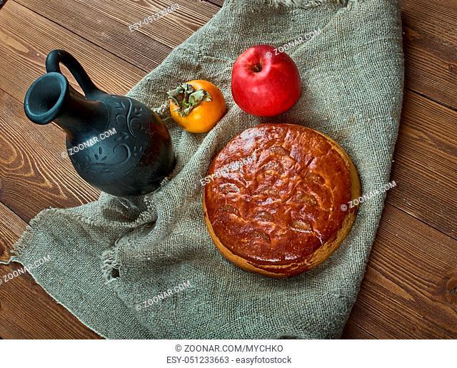 Armenian Gata Bread - popular dessert a lot of Armenians, similar to a coffee cake