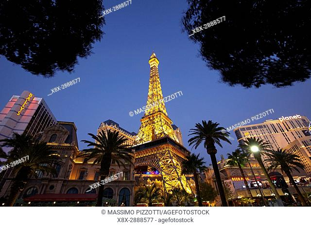 Paris Las Vegas hotel in Las Vegas, Nevada, United States