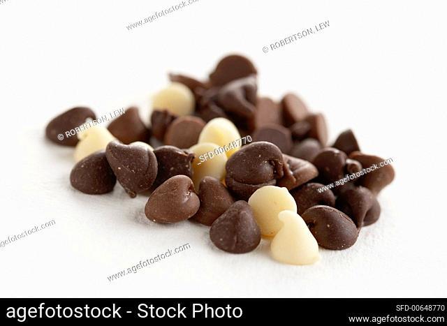 White, Milk and Dark Chocolate Chips