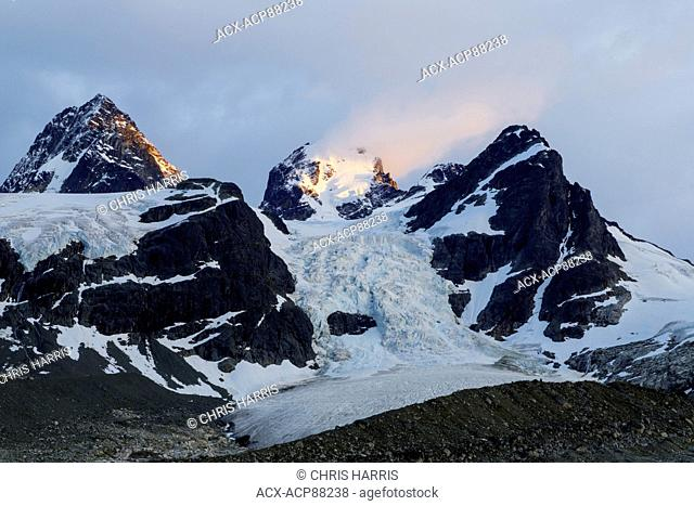 British Columbia, Canada, Chilcotin region, receeding glacier, glacier, Coast Mountains