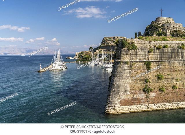 Alte Festung in Korfu Stadt, Kerkyra, Griechenland, Europa | Old Fortress in Corfu City, Corfu island, Greece, Europe