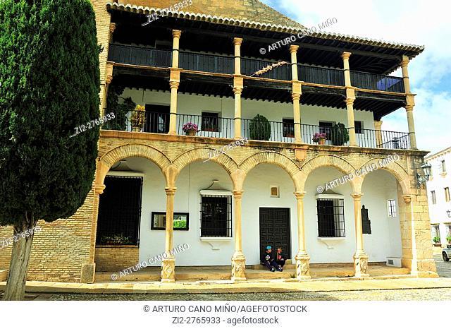 The Church of Santa María la Mayor, XVth century. Ronda, Málaga province, Spain