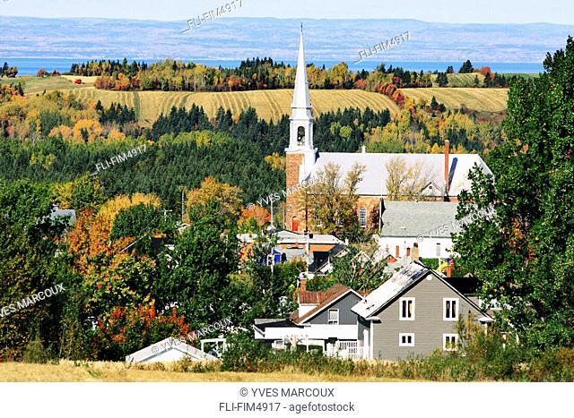 Sainte-Francoise Village, Bas-Saint-Laurent Region, Quebec