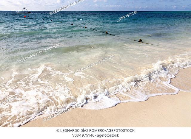 A View of Paradisus Hotel, at Playa del Carmen, Mexico
