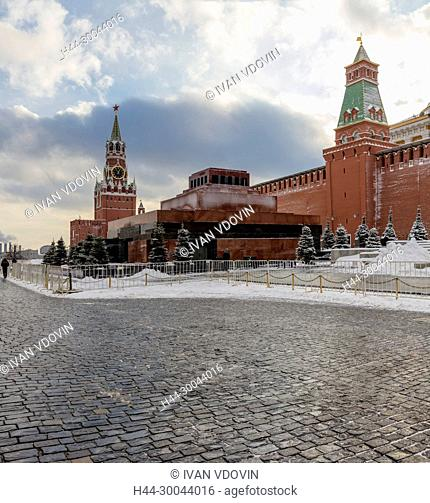 Red square, Kremlin, Moscow, Russia
