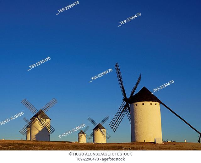 Windmills. Campo de Criptana. Ciudad Real. Spain