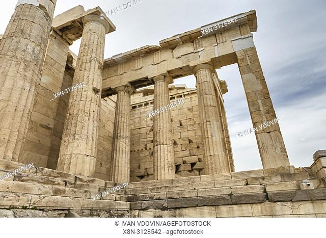 Temple of Athena Nike, Nika Apteros (420 BC), Athens, Greece