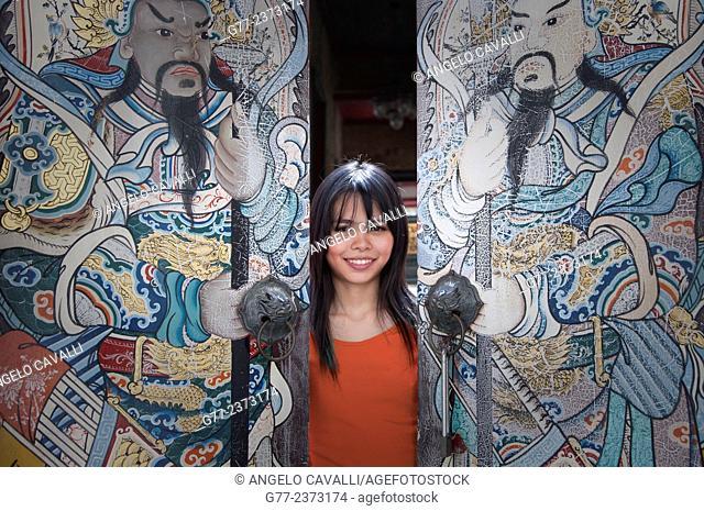 Thai woman, Bangkok, Thailand