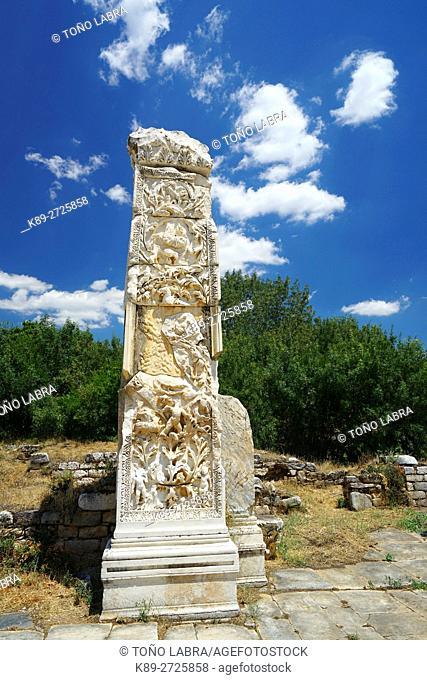 Aphrodisias Baths. Ancient Greece. Asia Minor. Turkey