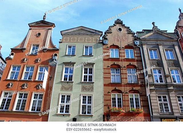 Danziger Bürgerhäuser
