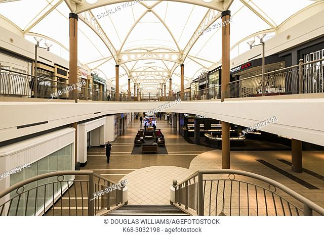 Brentwood shopping mall in Burnaby, BC, Canada