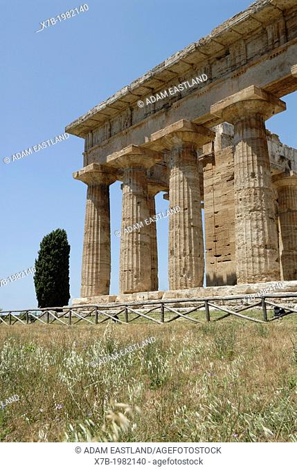 Paestum. Italy. Temple of Neptune