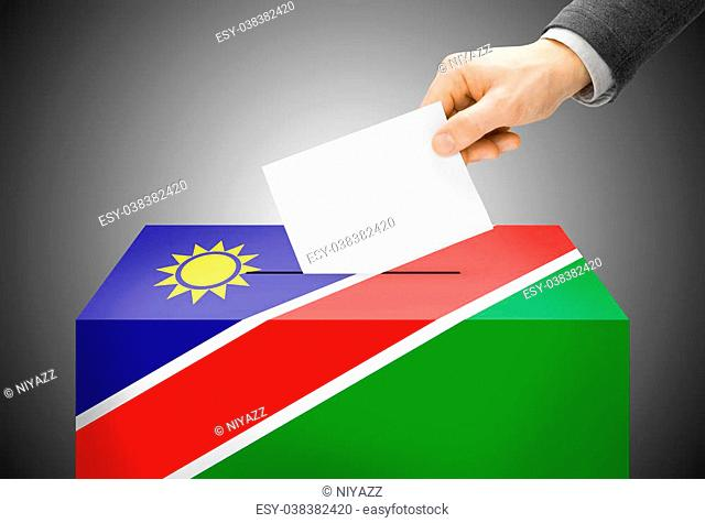 National flag namibia Stock Photos and Images | age fotostock