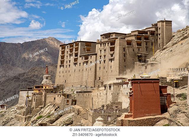 old palace of Leh, Ladakh, India