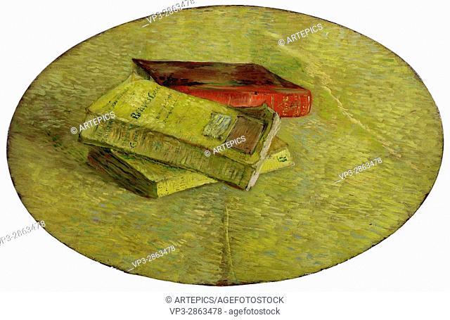 Vincent van Gogh - Drie boeken - Van Gogh Museum, Amsterdam