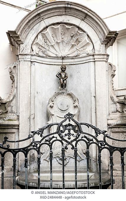 Manneken Pis, Brussels