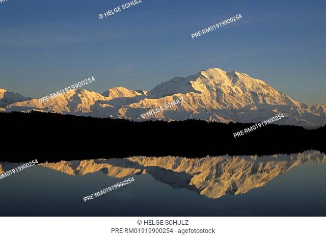 Mt.Mc Kinley with reflection