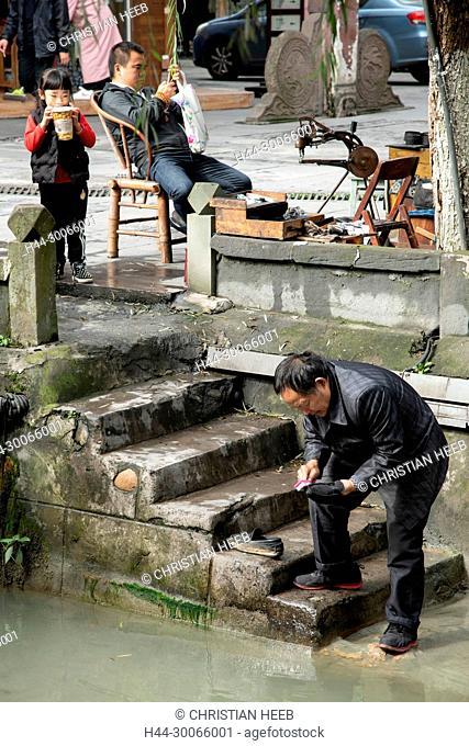 Asia, China, Peoples Republic, Sichuan Province, Chengdu, Du Jiang Yan City