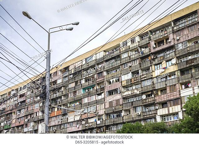 Armenia, Yerevan, Soviet-era komunalka apartment building
