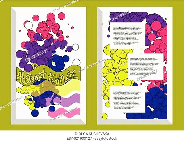 abstract template2