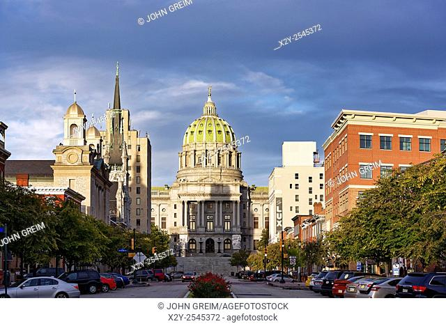 Pennsylvania State capitol building, Harrisburg, Pennsylvania, USA