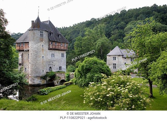 The 13th Century Castle Carondelet at Crupet, Belgium