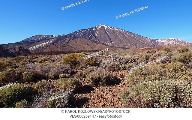 Pico del Teide in Parque Nacional del Teide – Teide National Park, Canary Islands, Spain