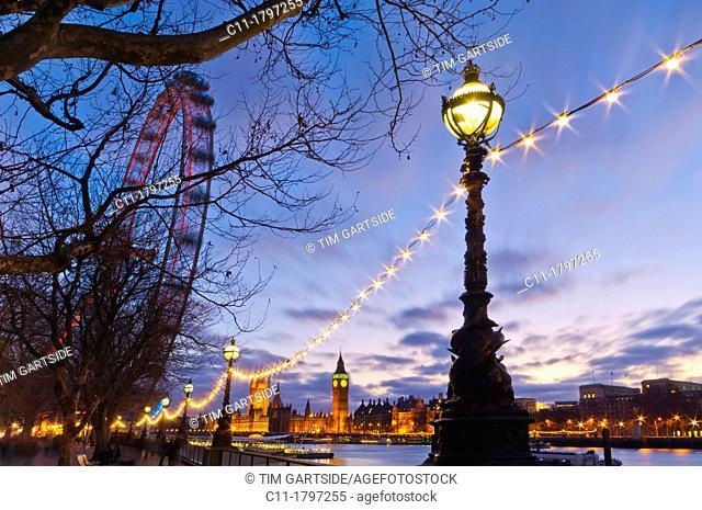 london eye,big ben and houses of parliament,london,england,uk,europe