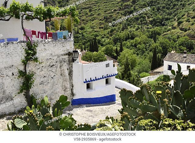 Spain, Andalusia, Granada, World Heritage Site, Sacromonte district,