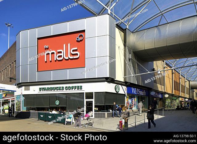 Basingstoke Malls, Basingstoke. Refurbishment and new build additions to the Basingstoke Malls shopping area