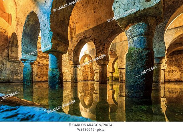 Cistern of Caceres in Extremadura, Spain