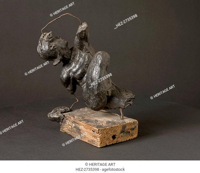 Model for a Fallen Warrior, c. 1520. Creator: Giovanni Francesco Rustici (Italian, 1474-1554), attributed to