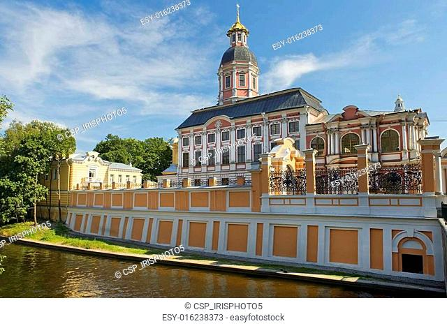 Holy Trinity Alexander Nevsky Lavra, Saint Petersburg, Russia