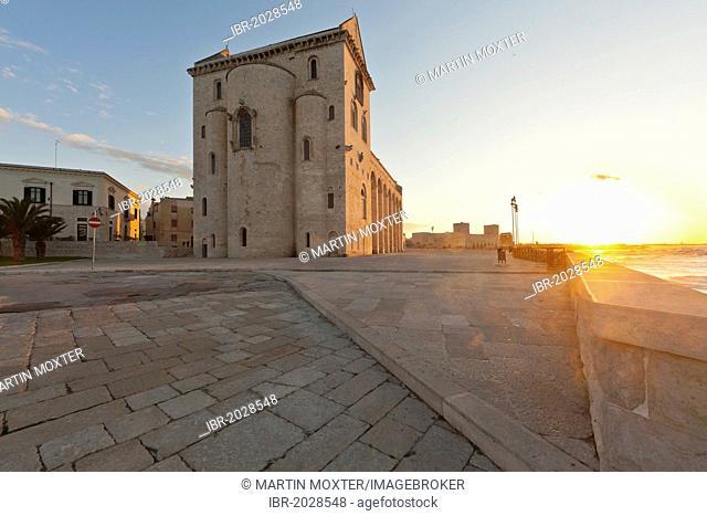 Cathedral of San Nicola Pellegrino, Marine Cathedral of Trani, Apulia, Southern Italy, Italy, Europe