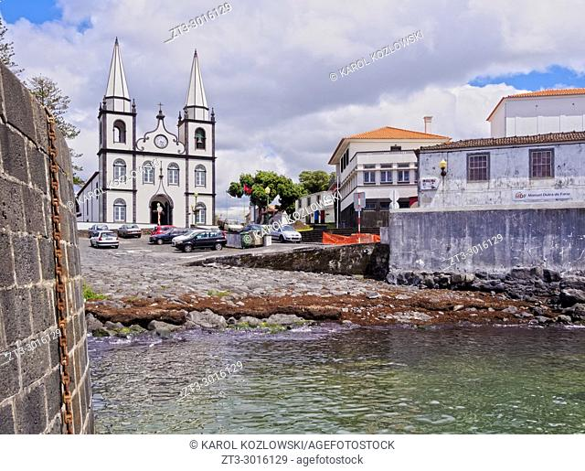 Church of Santa Maria Madalena, Madalena, Pico Island, Azores, Portugal