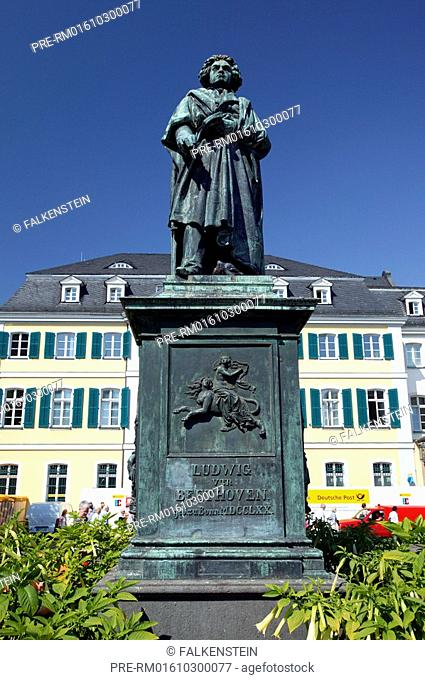 Beethoven monument, Bonn, NRW, Germany