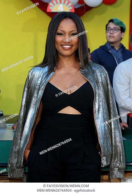 """Premiere Of Sony's """"""""Sausage Party"""""""" Featuring: Garcelle Beauvais Where: Westwood, California, United States When: 09 Aug 2016 Credit: FayesVision/WENN"""