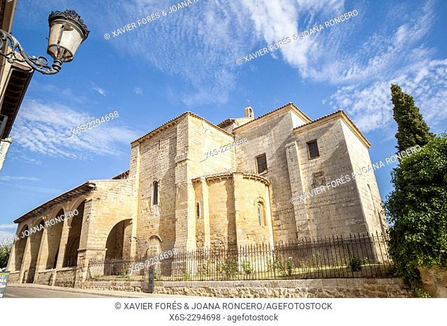 Church of Santa Maria del Camino in Carrion de los Condes, Way of St. James, Palencia, Spain
