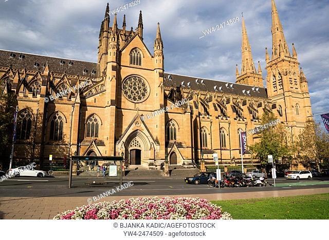 St Mary's Cathedral, Sydney, Australia