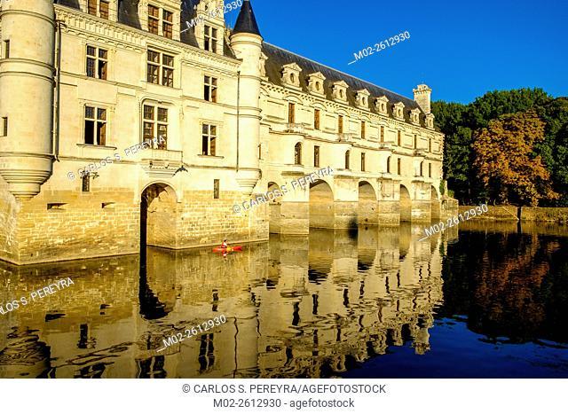Chateau of Chenonceau, Indre-et-Loire, Loire Valley, France, Europe